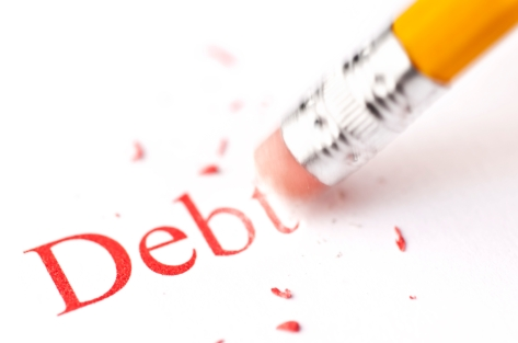 debt-eraser